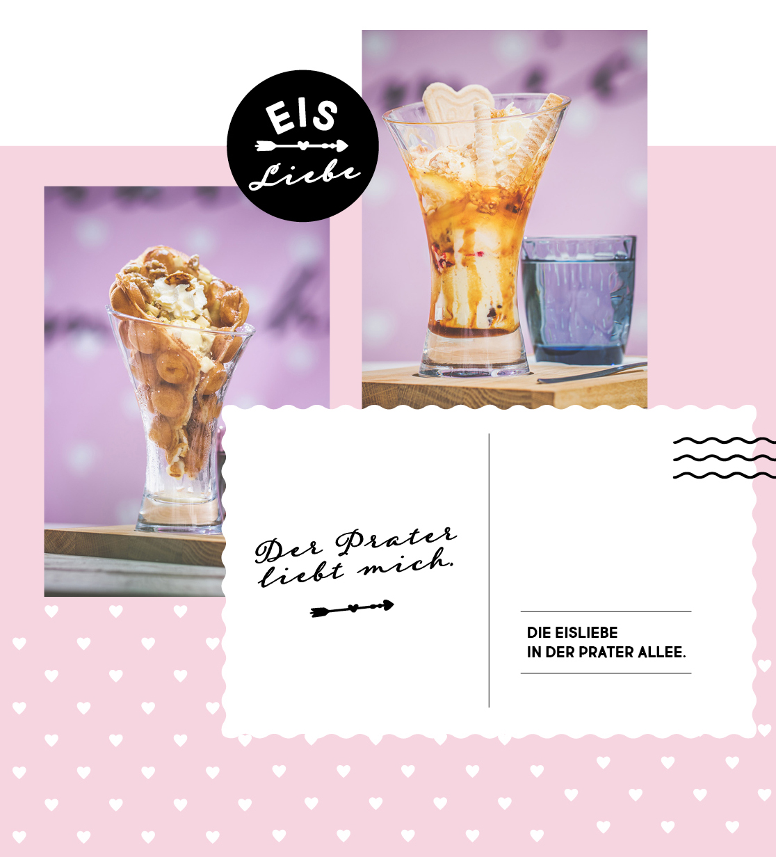 Die Eisliebe im Wiener Prater
